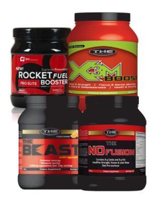 Pre-workout boosterji