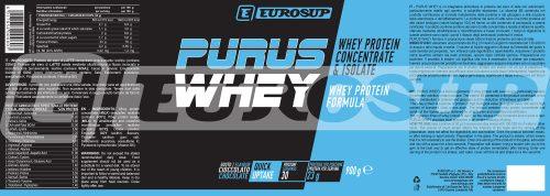 purus whey-900g-cioccolato-label