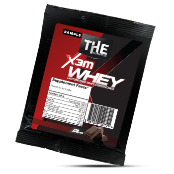 the x3m whey sample